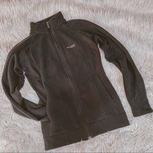 Columbia titanium fleece zip up jacket S